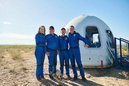 'Profound experience': Star Trek's Shatner becomes world's oldest space traveler