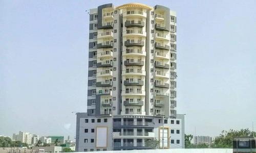 کراچی : نسلہ ٹاور ، رہائشیوں کو 15 دن کی مہلت