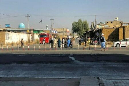 At least 33 dead in Afghan mosque blasts