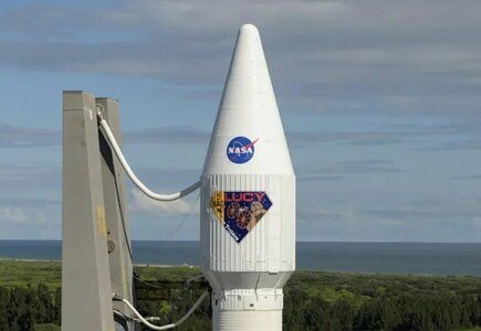 NASA launches Lucy probe to explore Jupiter asteroids