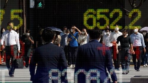 European equities drop on poor China data, inflation fears