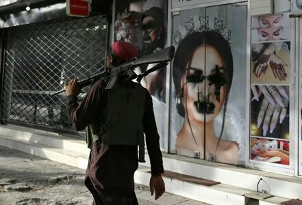 Beauty salon a women's haven in the Taliban's Kabul