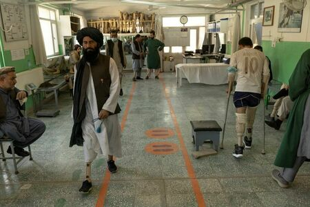 In Kabul clinic, Taliban and the soldiers they fought confront wounds of war