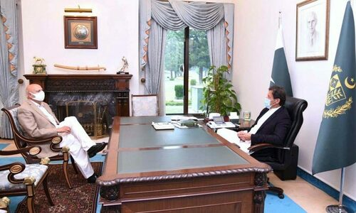 PM Imran, Punjab governor discuss administrative, political issues of province