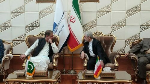 FM Qureshi arrives in Iran on two-day visit
