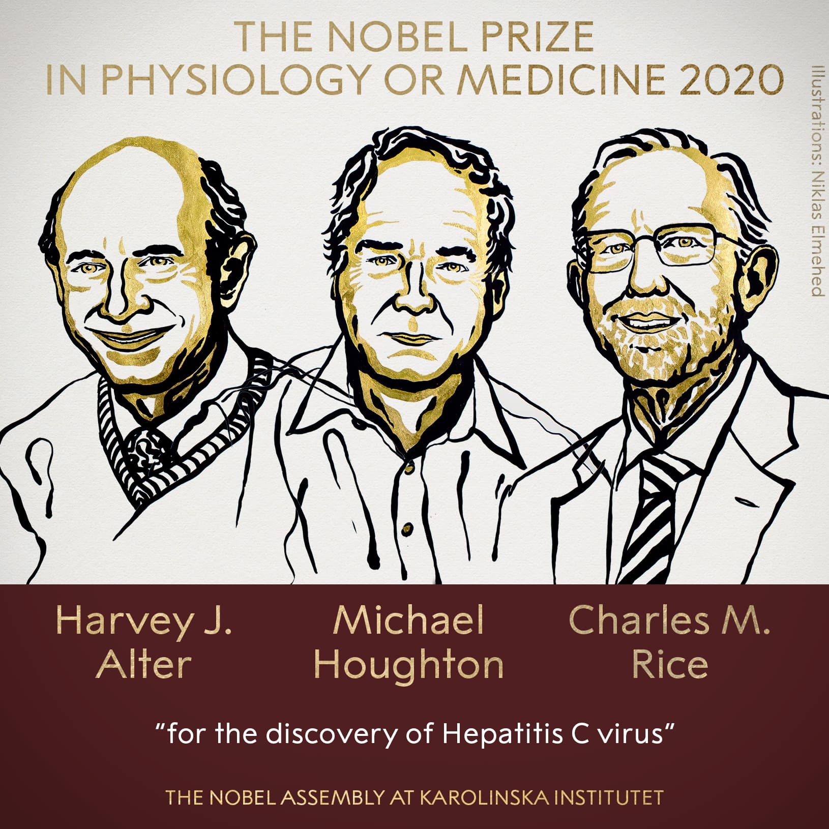 Nobel Prize in medicine awarded to scientists who identified hepatitis C virus
