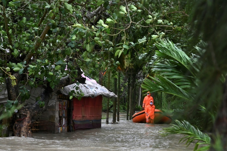 Five dead as another cyclone batters India