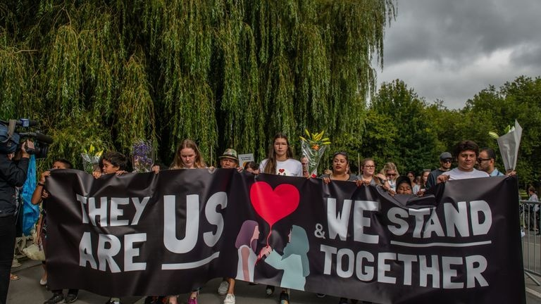 New Zealand march for peace after Christchurch mosque attack: File photo
