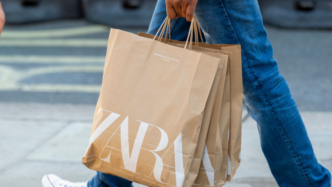 Social media users have called for shoppers to boycott Zara after its head designer made racist comments to a Palestinian model. Photo courtesy Zara