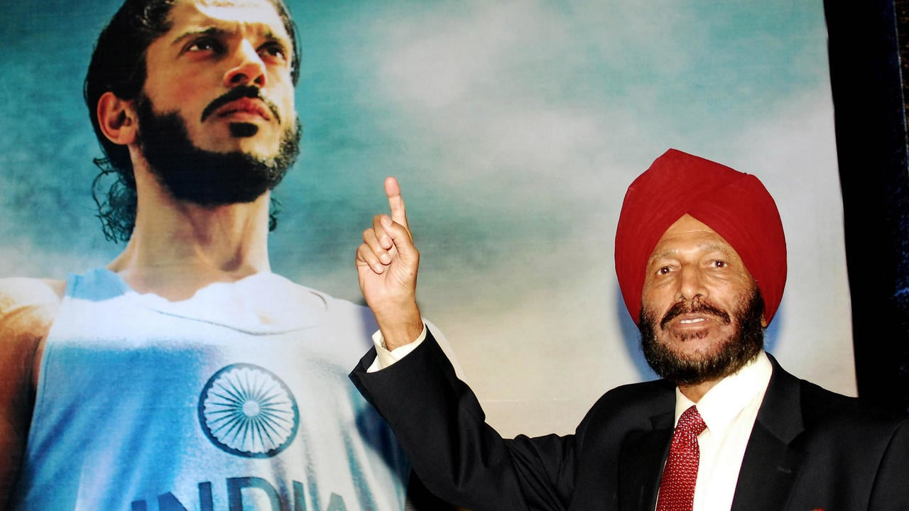 Milkha Singh sold his life story to the film maker for a cut price one rupee in the hope that the biopic might inspire the youth of India. Reuters