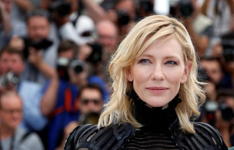 """Cate Blanchett, a goodwill ambassador for UNHCR says World Refugees Day comes during a time of """"challenge and reflection"""". Reuters"""