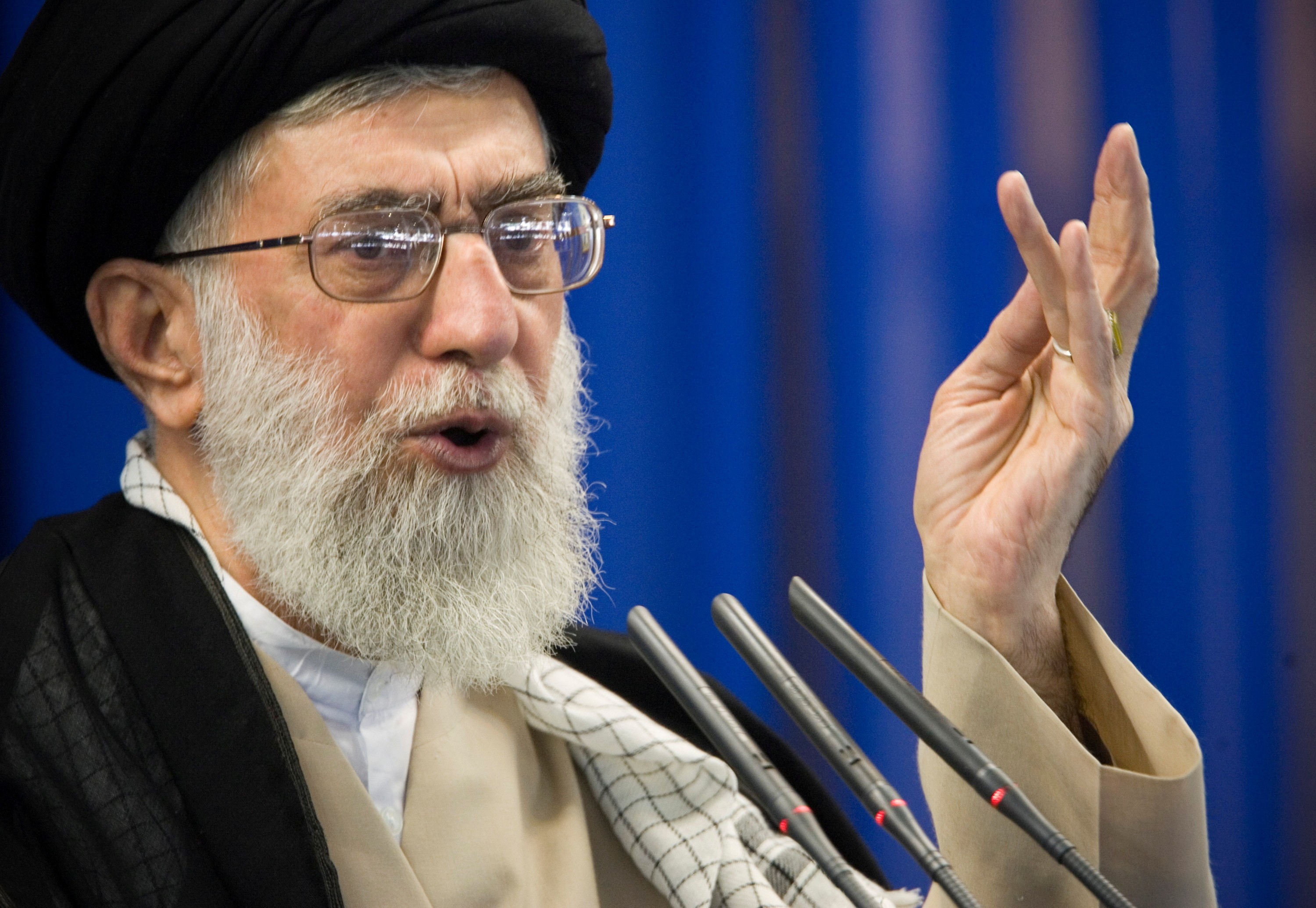 """Iran's Khamenei says, """"trusting the West does not work"""""""