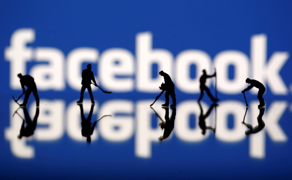 """Facebook investigators called the campaign a """"disinformation laundromat."""" Reuters"""