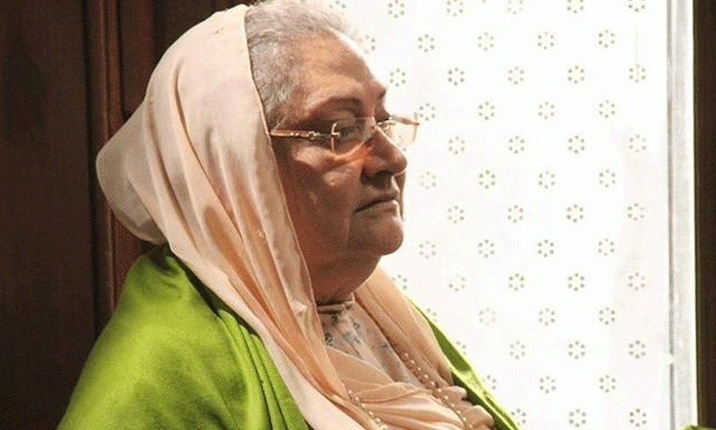 Durdana Butt was known for many of her comedic roles in Fifty Fifty, Naukar ke Aagay Chakkar, Aanghan Terha and Tanhaiyan. File photo