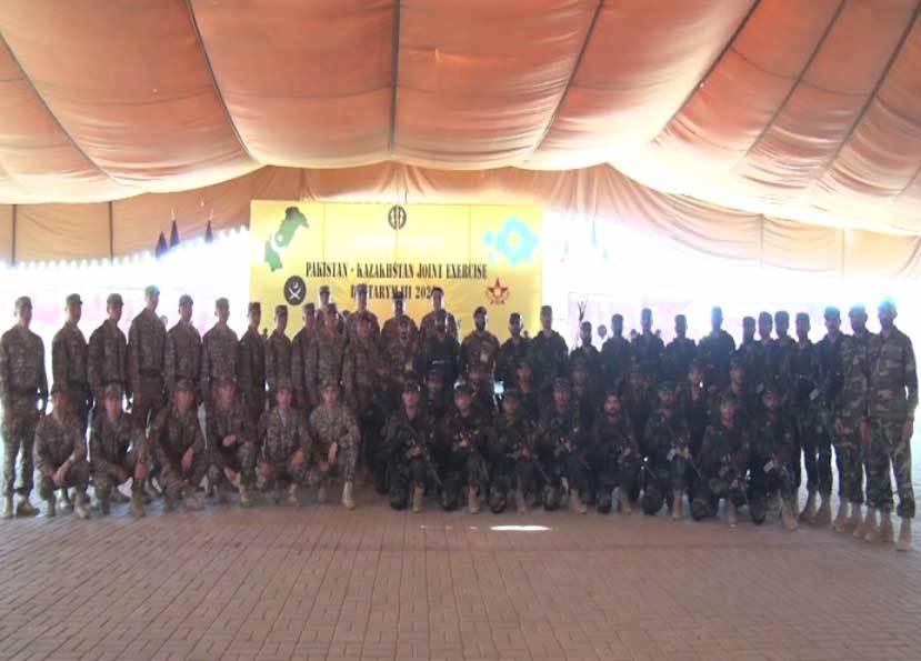 3rd Pak-Kazakh military exercise begins