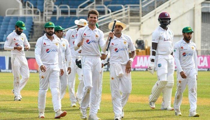 پاکستان ٹیم نے ٹیسٹ کرکٹ کی تاریخ میں انوکھا ریکارڈ اپنے نام کرلیا