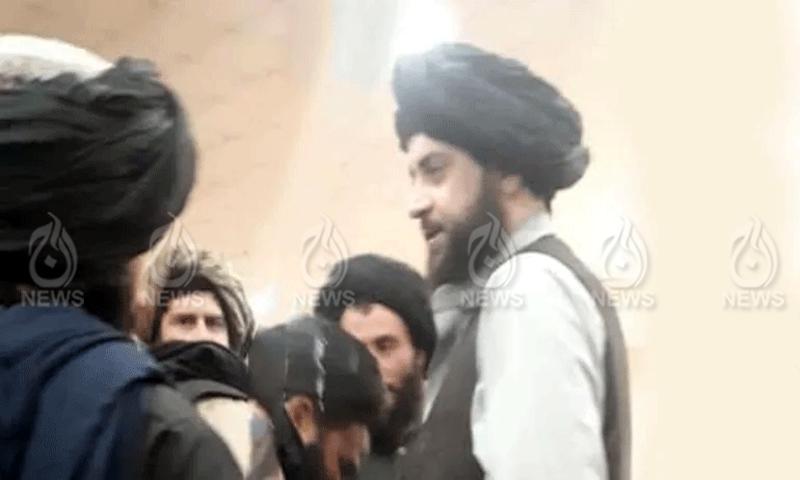 تصویر طالبان رہنما احمد اللہ متقی  کے آفیشل ٹویٹر اکاؤنٹ سے جاری کی گئی ہے