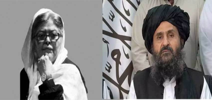 Women's rights activist Mehbooba Siraj and Taliban leader Mullah Baradar have been included in Time's list of 100 most influential leaders. File Photo