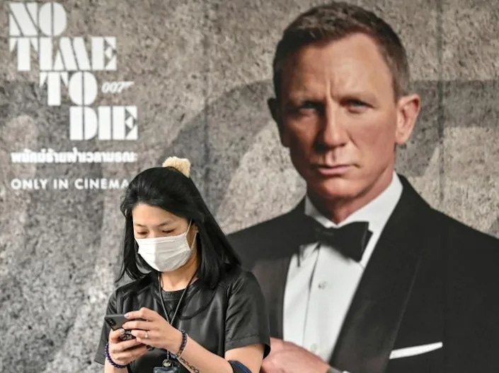 The film will release globally October 8. AFP