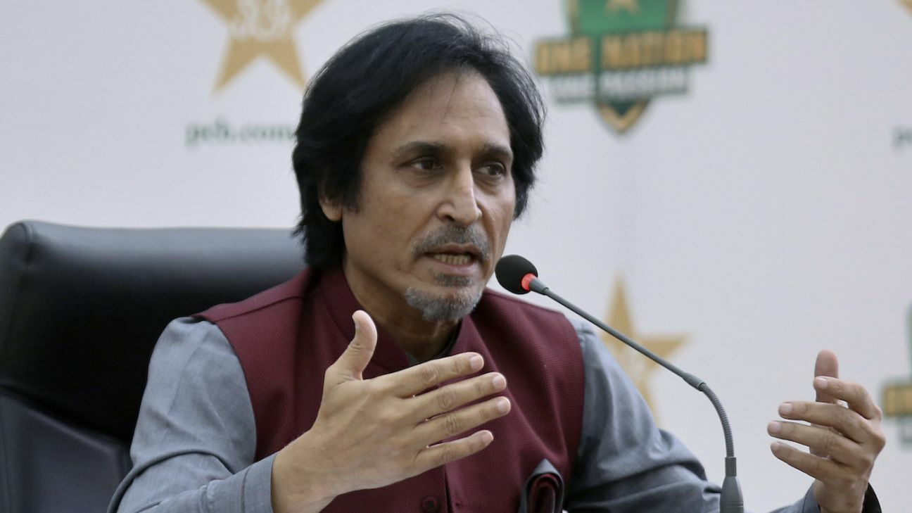 Ramiz Raja said he wants to fix the whole system from top to bottom. File Photo