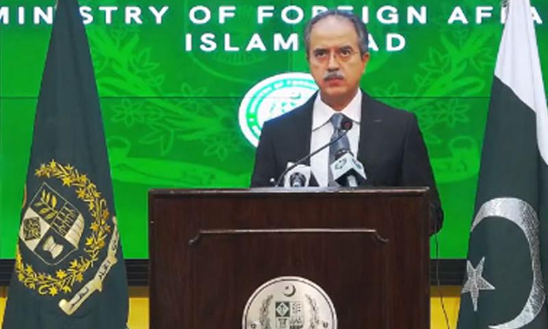 پاکستان امریکا کے ساتھ وسیع البنیاد تعلقات کا خواہاں ہے: ترجمان دفتر خارجہ