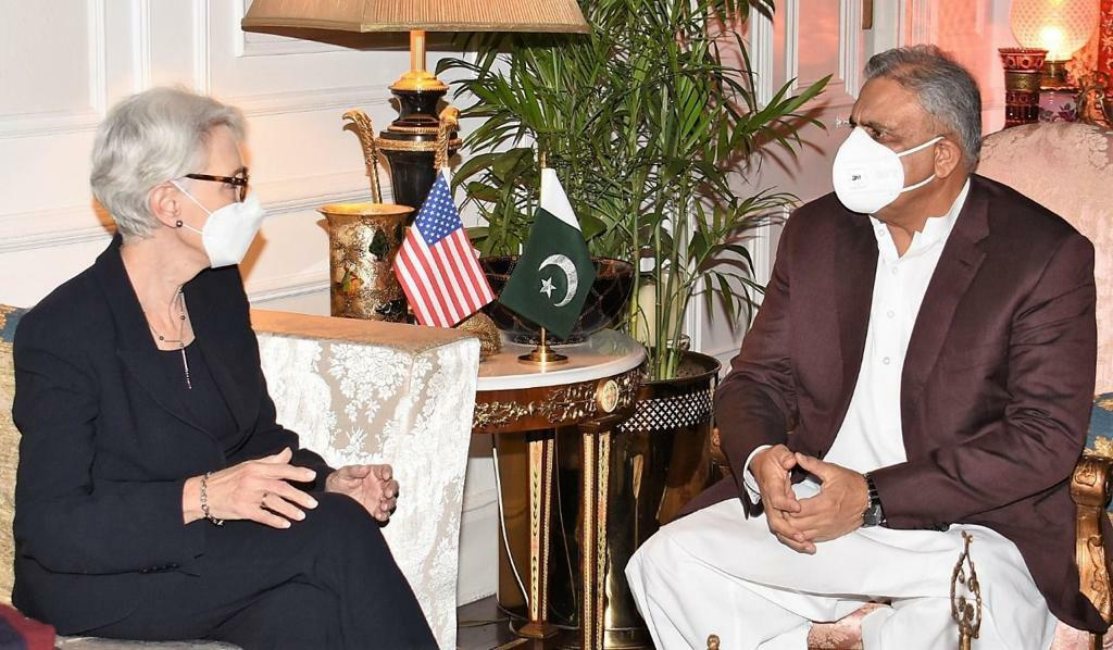 COAS, US Deputy Secretary of State discuss regional security, Afghan situation