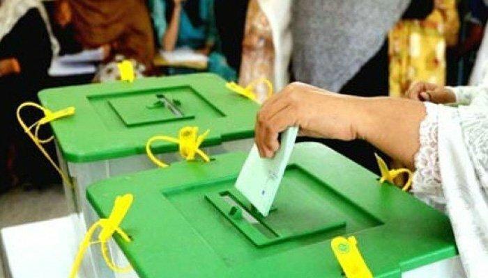 آزاد کشمیر قانون ساز اسمبلی کی 2 نشستوں پر ضمنی انتخاب کیلئے پولنگ جاری