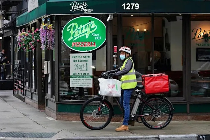 In just the first nine months of this year, DoorDash has likely filled over 1 billion orders. AFP