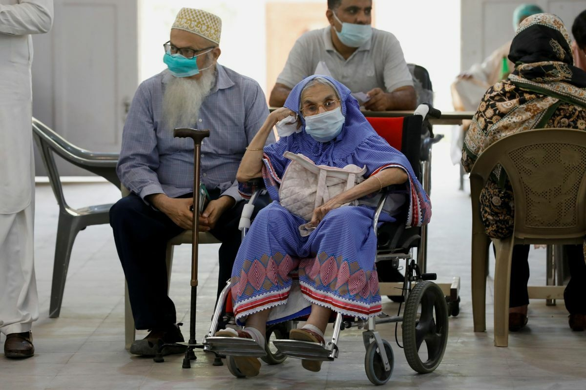 At least 34 million people have been fully vaccinated against Covid across the country. Reuters