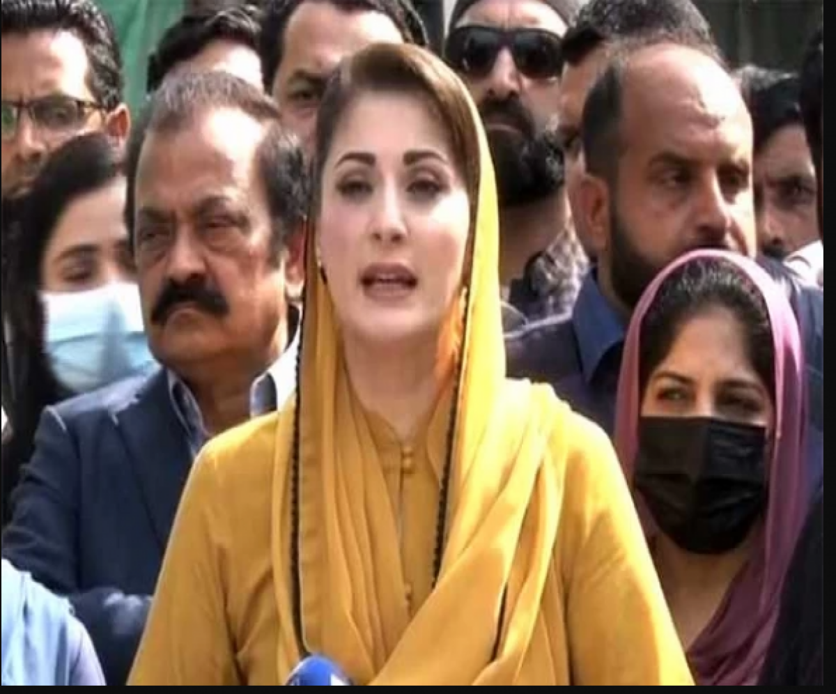 Maryam told this to media following an appearance in the Islamabad High Court. File photo