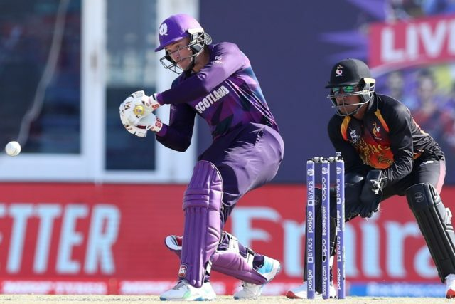 Scotland beats PNG by 17 runs, inches closer to Super 12s