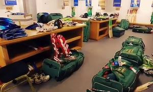 Pakistan cricket squad undergoes COVID-19 testing in England