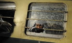 خان پور میں شالیمارایکسپریس اور مال گاڑی کےدرمیان تصادم