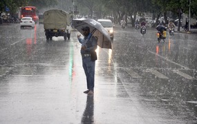 پنجاب  کے مختلف علاقوں میں گردآلود ہواؤں کے ساتھ بارش کی پیشگوئی