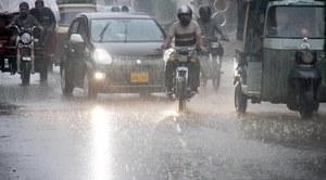 کراچی میں آج بھی تیز بارش کا امکان