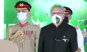 Nation overcame numerous challenges since independence: President Alvi