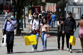 UK retail rebounds in bright spot for COVID-hit economy