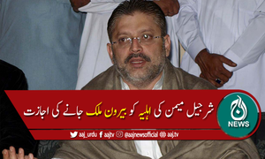سندھ ہائیکورٹ کی شرجیل میمن کی اہلیہ کو بیرون ملک جانے کی اجازت