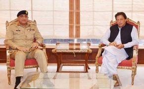 COAS calls on PM Iran Khan, discusses national security situation