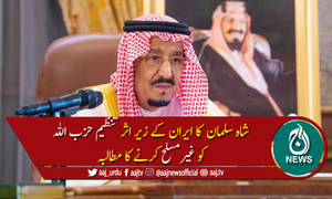سعودی عرب نے ایران کیخلاف عالمی برادری سے مدد مانگ لی