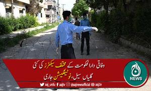 کورونا کیسز میں اضافہ:اسلام آباد کے مختلف سیکٹرز کی 10 گلیاں سیل