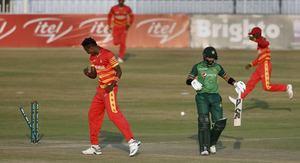 Muzarabani stars as Zimbabwe beat Pakistan in Super Over