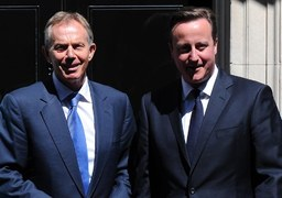 Cutting aid budget would hit UK influence, two former PMs say