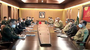 Chinese Defence Minister acknowledges Pak Army's sincere efforts for regional peace