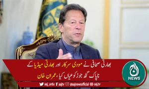 پاکستان بھارتی مذموم عزائم کو بے نقاب کرتا رہے گا، وزیراعظم