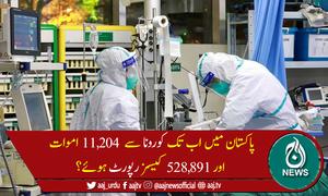 پاکستان میں کوروناسےمزید 47 افرادچل بسے، 1,745 نئے کیسز رپورٹ
