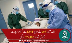 پاکستان میں کورونا سے مزید 32اموات، جاں بحق افراد کی تعداد 12,804ہوگئی