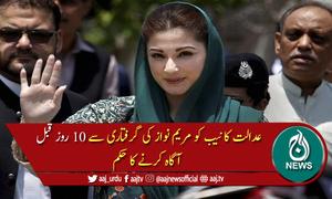 لاہور ہائی کورٹ نے مریم نواز کی عبوری ضمانت کی درخواست نمٹا دی