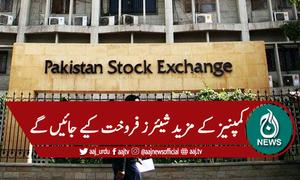 پاکستان اسٹاک میں کمپنیز کے آئی پی اوز کیلئے تگ ودو
