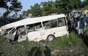 19 killed as a passenger coach crashes in Khuzdar, Balochistan